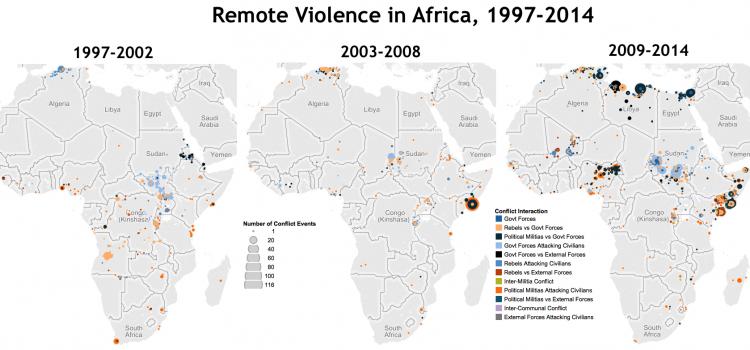 Trend 5: Violent Conflict Actors in Africa in 2015