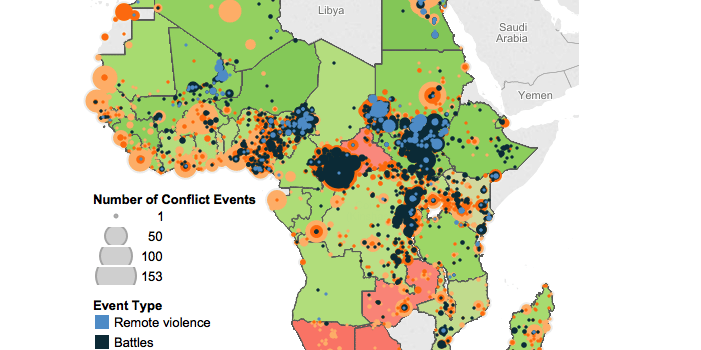 The Effect of Inequality on Conflict in Africa