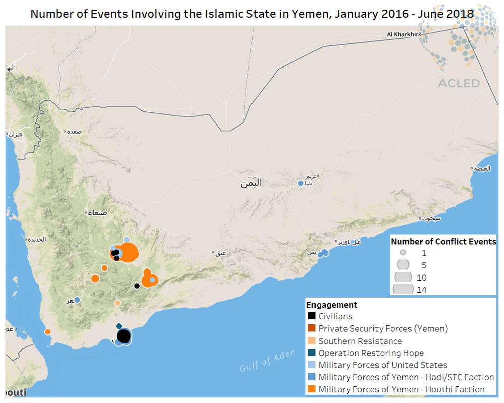 The Islamic State in Yemen | Acled Data