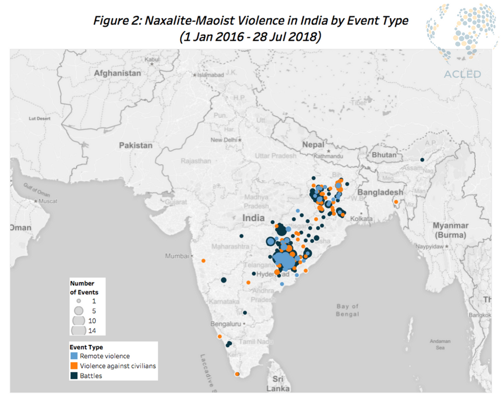 The Complexity of Disorder in India | Acled Data
