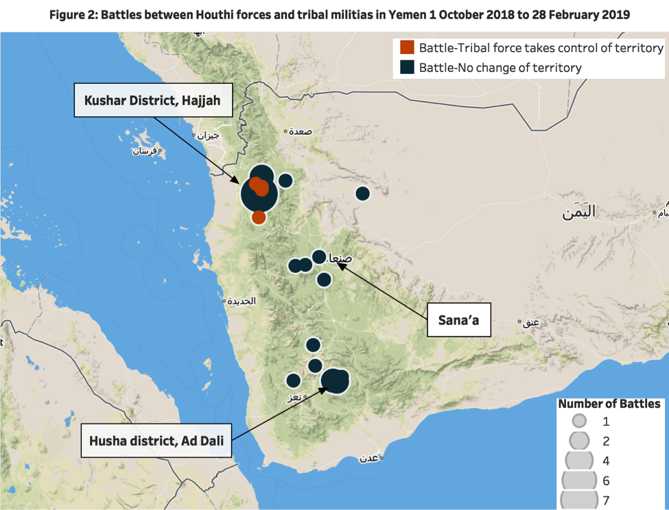 Increasing Tribal Resistance to Houthi Rule   Acled Data on kenya tribes, guyanese tribes, congolese tribes, south african tribes, colombian tribes, italian tribes, saudi arabian tribes, afghan tribes, malaysian tribes, turkish tribes, chinese tribes, senegalese tribes, ethiopian tribes, french tribes, zambian tribes, iranian tribes,