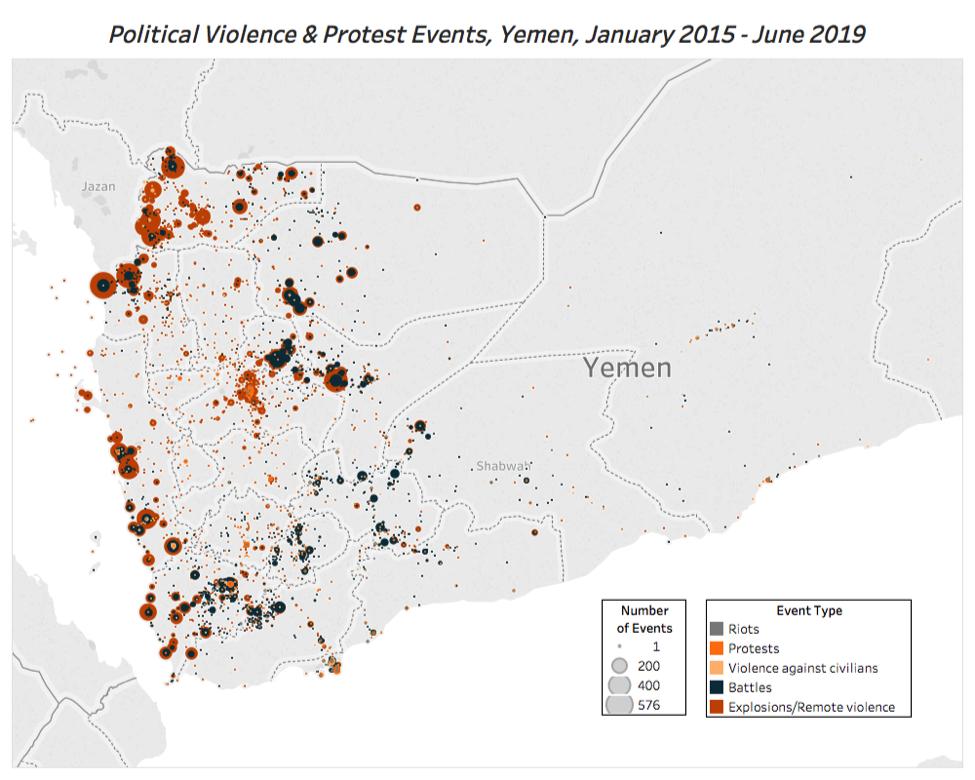 Yemen Snapshots: 2015-2019 | Acled Data